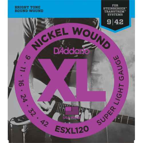 D´addario ESXL120   Doble Bola Super Light [09 42]
